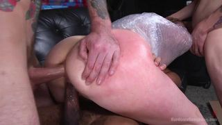 Recent Divorcee Gets Double Stuffed By And Entire Moving Crew Cock - Scene 2