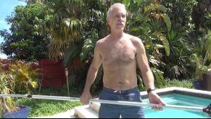 Stepdad Jerks Off The Swim Team.