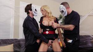 Alexis Fawx Freaky Threesome.