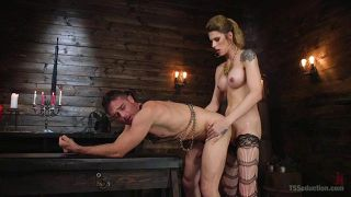 Tall Mistress Casey Dominates A Submissive - Scene 2