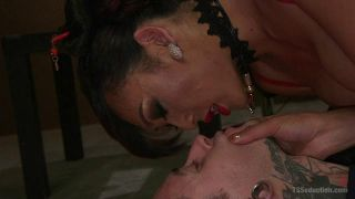 Slave Worships And Gets Fucked By The Sensual Venus Lux - Scene 1