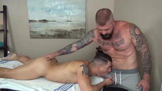 Rocco Steele's Dad's Bareback Massage - Scene 3