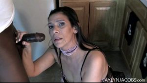 Milfy Jaylyn Jacobs Is A Big Black Cock Whore.