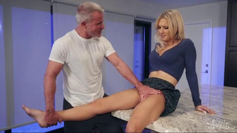 Dad Has TS Girlfriend For Lunch, starring Kayleigh Coxx and Dale Savage, produced by TransAngels. Video Categories: Transgender.