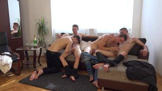 Wank Parties Plus From Prague 42 - Scene 1