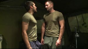 Andrew Justice Gets His Military Physical.
