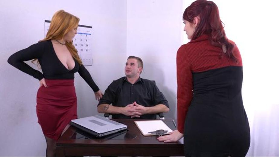 Getting The Boss Off At Work, starring Violet Monroe, Penny Pax and Nathan Bronson, produced by Spizoo. Video Categories: Threeway.