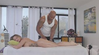 Interracial MILF Massage 2 - Scene 1
