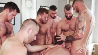 Damaged Bottom Gang Bang - Scene 1