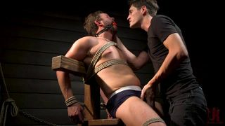 KinkMen Presents Constrained: Featuring Alex Mecum And Casey Jacks - Scene 2