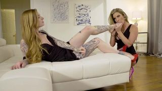 Bombshell Blondes In High Heels - Scene 4