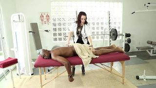 Black And White Massage - Scene 1