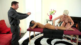 Black And White Massage - Scene 2