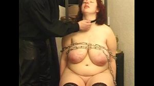 Big Ass German Redhead in Chains.