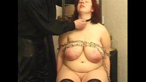 Big Ass German Redhead in Chains.