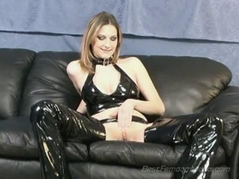 Mistress lias bi sex domination remarkable, very