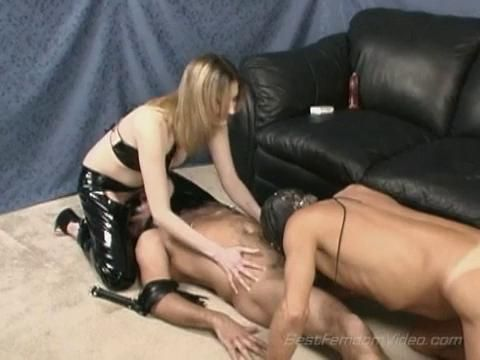 Mistress lias bi sex domination