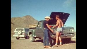 1984 Desert Meeting Wearing Short Shorts.
