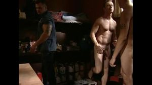Lifeguard Tober Finds Naked Men.