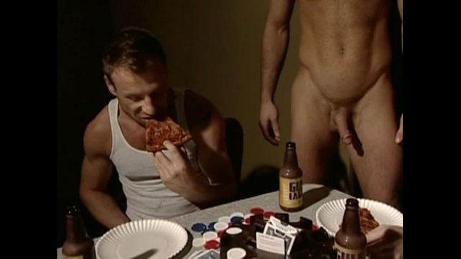 Pizza and Dicks Late Night Snack, starring Damien Crosse, Mason Wyler, Dean Flynn, Justin Riddick and Korben David, produced by Titan Media. Video Categories: Orgies, Blowjob, Muscles and Masturbation.