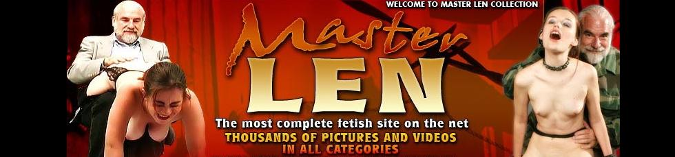 Click Here to return to Master Len's Intense Fetish Video on Demand