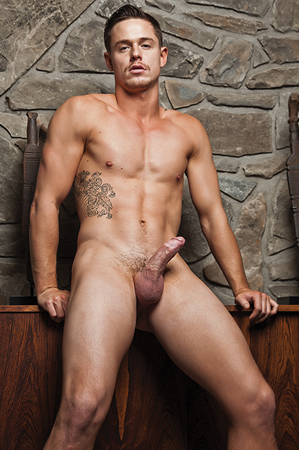 Jed Athens, gay porn star, versatile, muscles