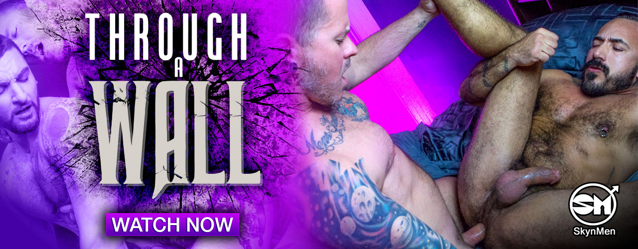 You really get to know someone when you live with them, even more so when all you have is only a wall between you. Watch this new release from Skyn Men!