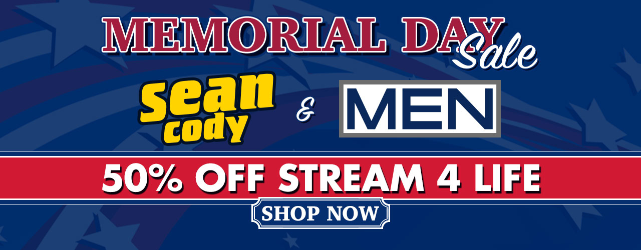 Don't miss out on our Memorial Day Weekend sale, 50% off all Sean Cody and Men.com titles. Shop the sale now!!