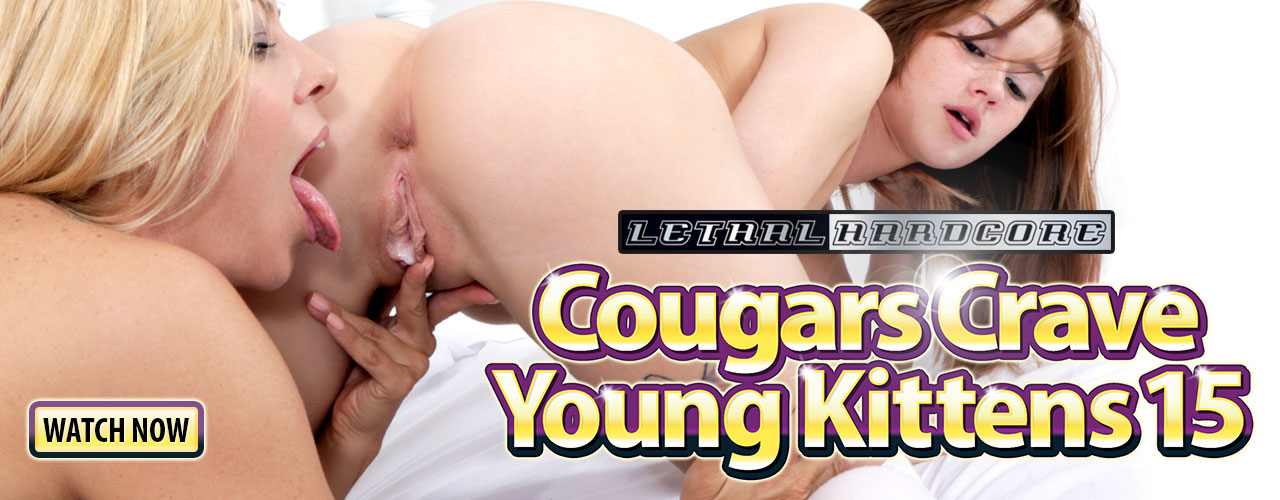 Cougars Crave Young Kittens 15